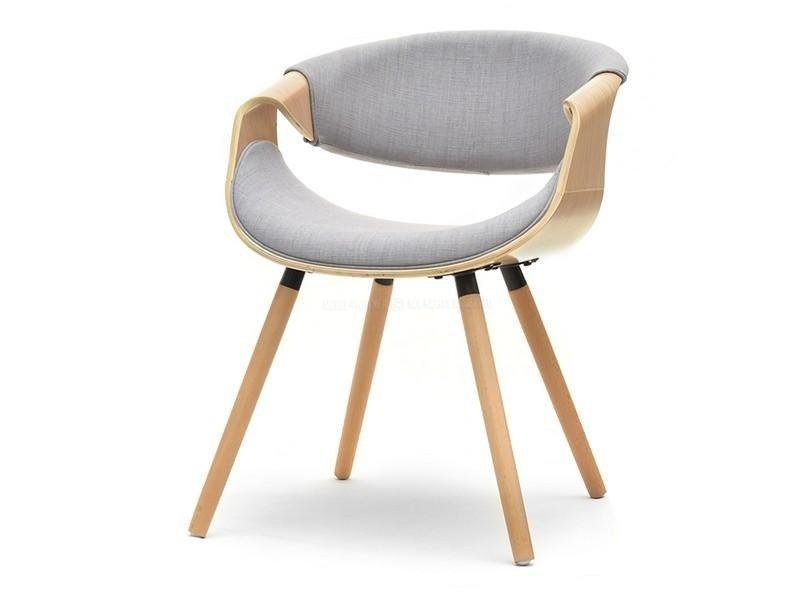 Krzesło Z Drewna Dębowego Oraz Tkaniny Bent Dąbszary