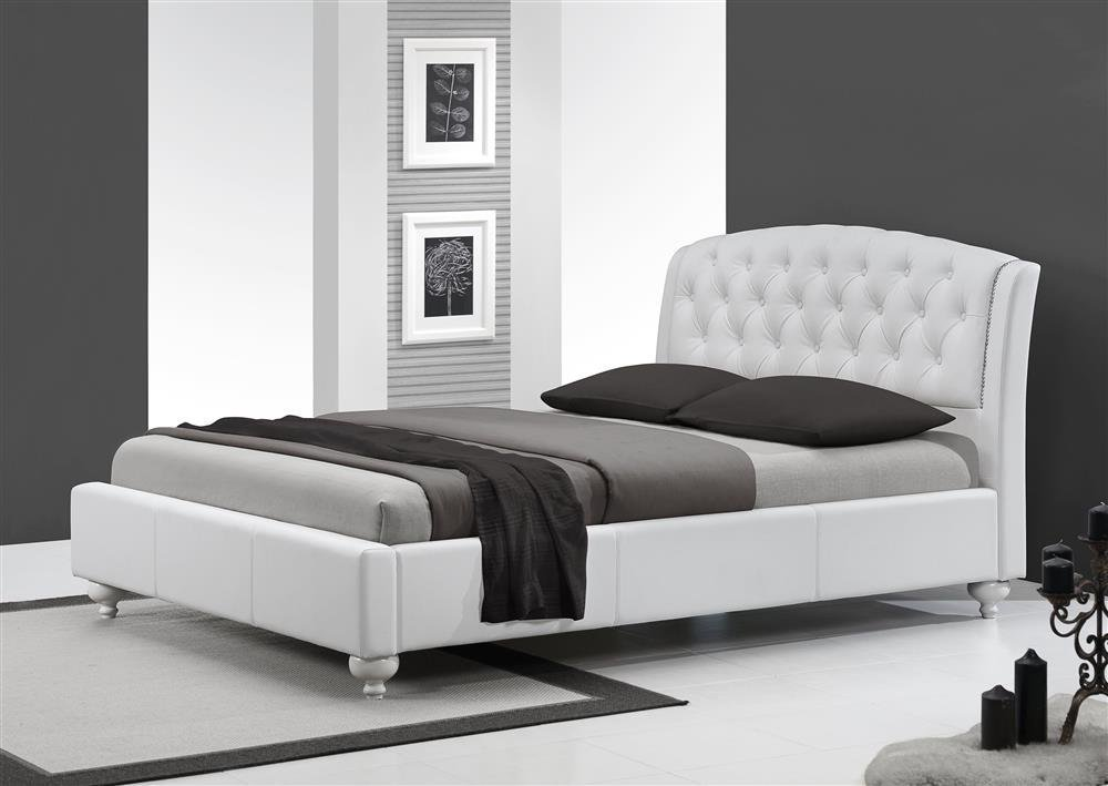 Nowoczesne łóżko Do Sypialni Sofia 160200 Biały 13578 Nowoczesne
